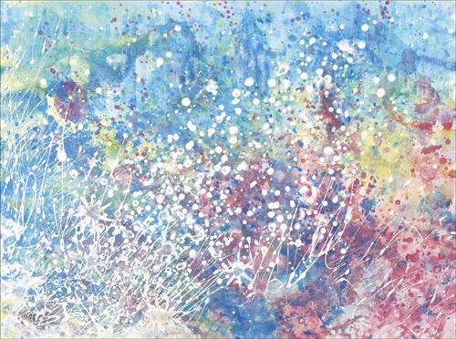 'Explosions of Colour' - Source: https://irisgracepainting.com/paintings/