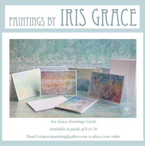 Iris Grace Painting Greetings Cards