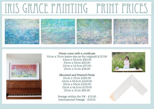 Iris Grace Painting Print Prices