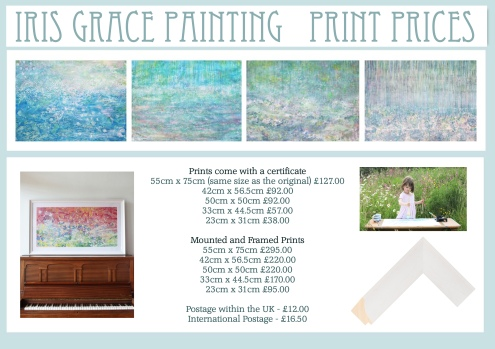 Iris Grace Painting Print Prices