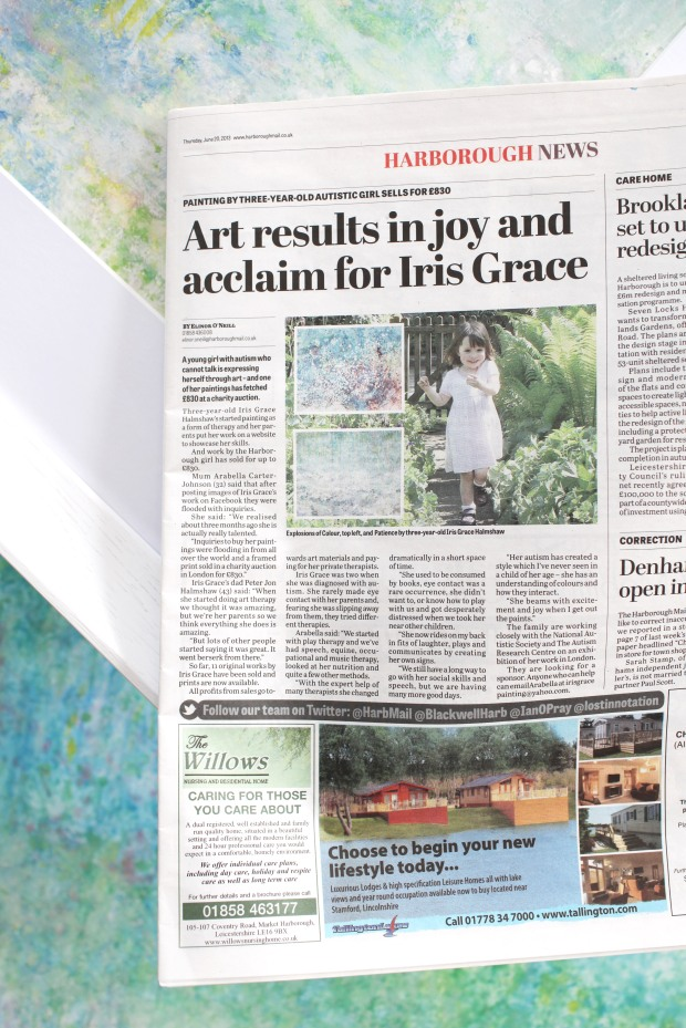 Harborough Mail Iris Grace