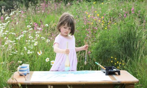Iris Grace Painting garden studio