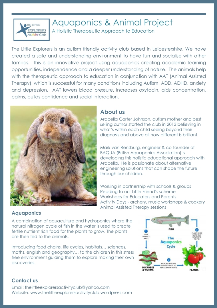 Aquaponics and Animal Project1