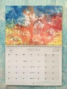 inside the calendar